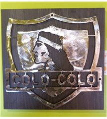 DECORACION LOGO COLO COLO METAL